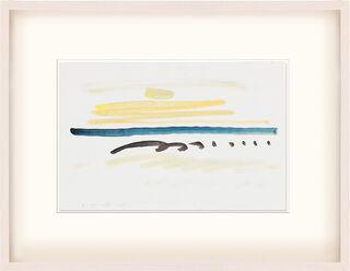 """Bild """"Zeichen einer Landschaft"""" (1992) (Unikat)"""