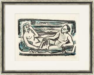 """Bild """"Auf dem Lager"""" (1947)"""