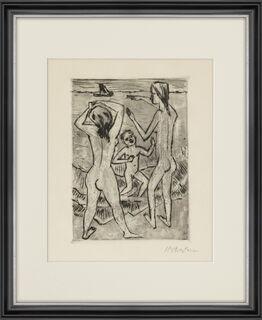 "Bild ""Am Strand"" (1922)"