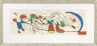 "Bild ""Joan Miro et l'émancipation definitive de la queue du chat"" (1978)"