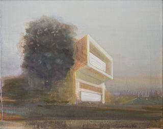 "Bild ""Villa"" (2019) (Unikat)"