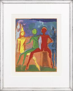 """Bild """"Marino from Shakespeare II, Tafel II."""" (1978)"""