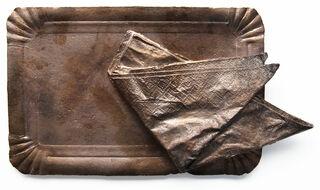 """Skulptur """"Curry Royal"""" (2021) (Unikat), Bronze"""