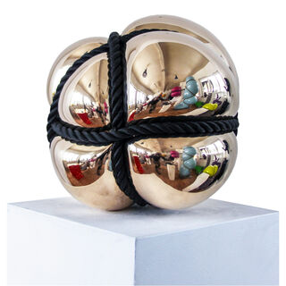 "Skulptur ""Bondage"" (2019), Bronze"