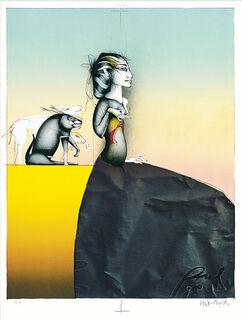 """Bild """"Schöne Dame gut bewacht"""" (1998)"""
