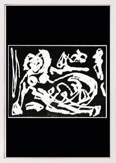 """Bild """"Frau im Garten (nackt)"""" (1991)"""