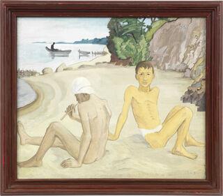 """Bild """"Vult und Wald"""" (1934) (Unikat)"""