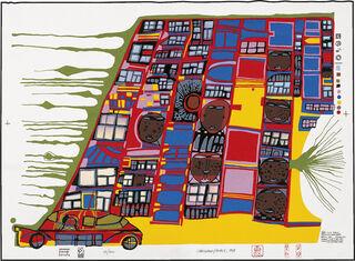 986 LA CASA MOBILE, THE MOVING HOUSE (1997) (Siebdruck)
