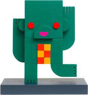 "Skulptur ""Bruno"" (2018) (Unikat), Holz"