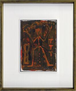 "Bild ""Ohne Titel (Jäger)"" (1998) (Unikat)"