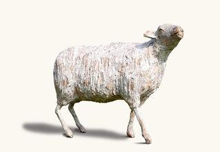 """Skulptur """"Weiße Hilde"""" (2021)"""