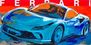 """Bild """"Ferrari"""" (2021) (Unikat)"""